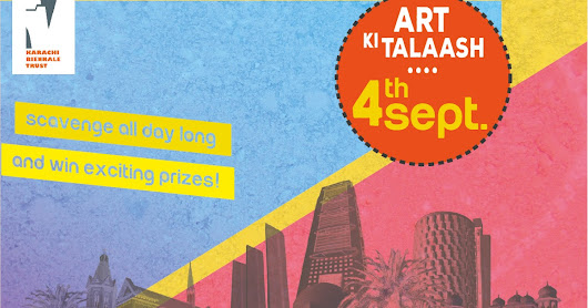 Join Art Ki Talaash Event on September 4th ~ Zaib Abbasi
