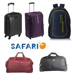Safari Suitcase, Strolley, Bags, Backpacks – Min 50% upto 65% Discount – Amazon