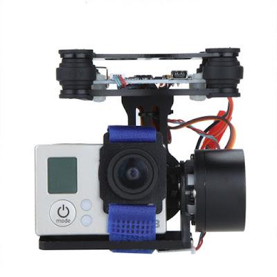 Gimbal Kamera Drone Terbaik BGC 2 Axis Brushless - GudangDrone