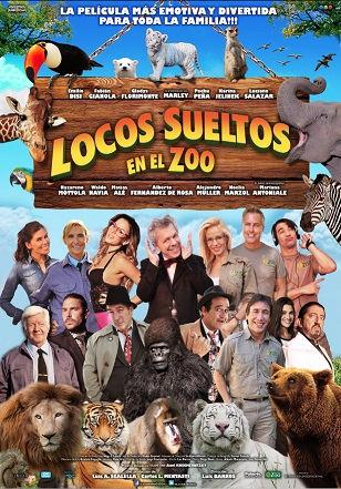 Locos sueltos en el zoo (2015) DVDRip Latino