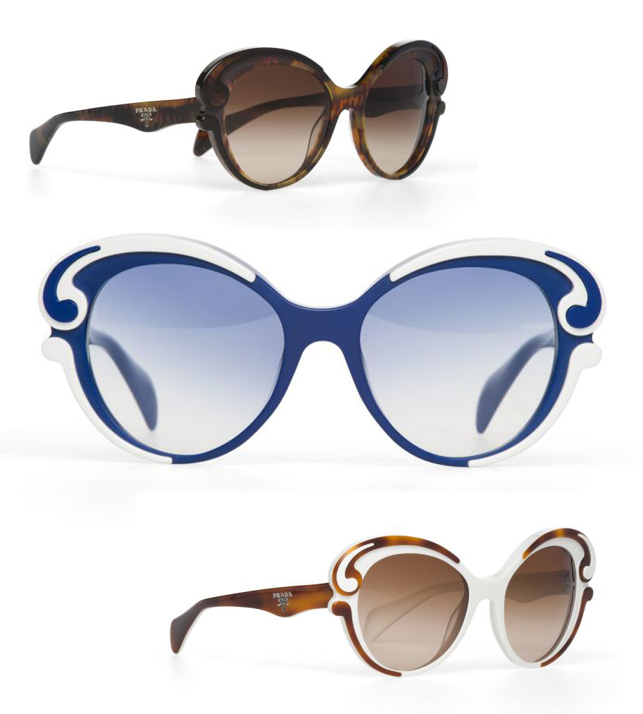 16b88636931d8 LETAGE    BLOG OFICIAL  Óculos Minimal Baroque da Prada é must-have ...