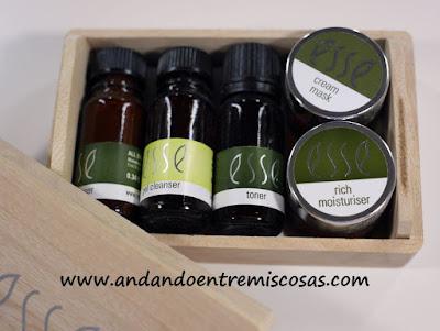 Set de muestras para piel seca/sensible