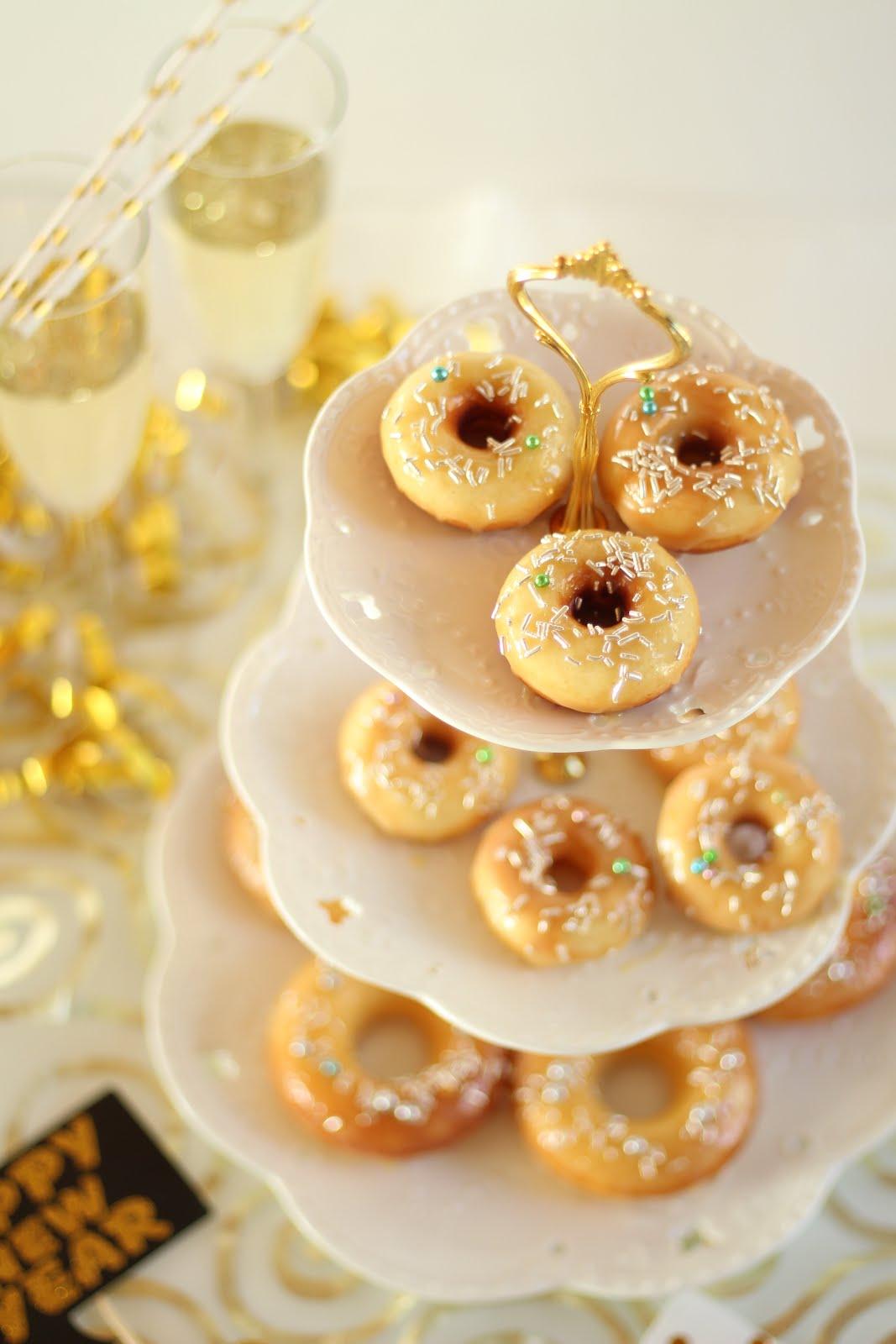 Champagner-Donuts - Rezept und Video von Sugarprincess