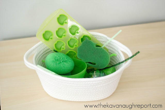 Montessori inspired color themed treasure baskets for babies and toddlers. How to make these treasure baskets and why they are great.