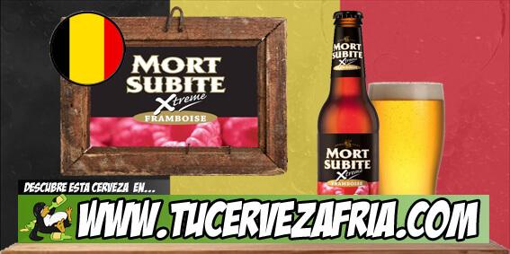 "Cerveza MORT SUBITE ""Framboise"""