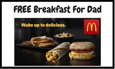Publicidad de McDonals. Desayuno para padres