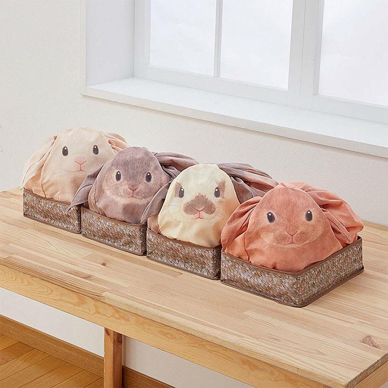 Bolsas conejitos de Japón convierten tu casa en una granja de conejitos