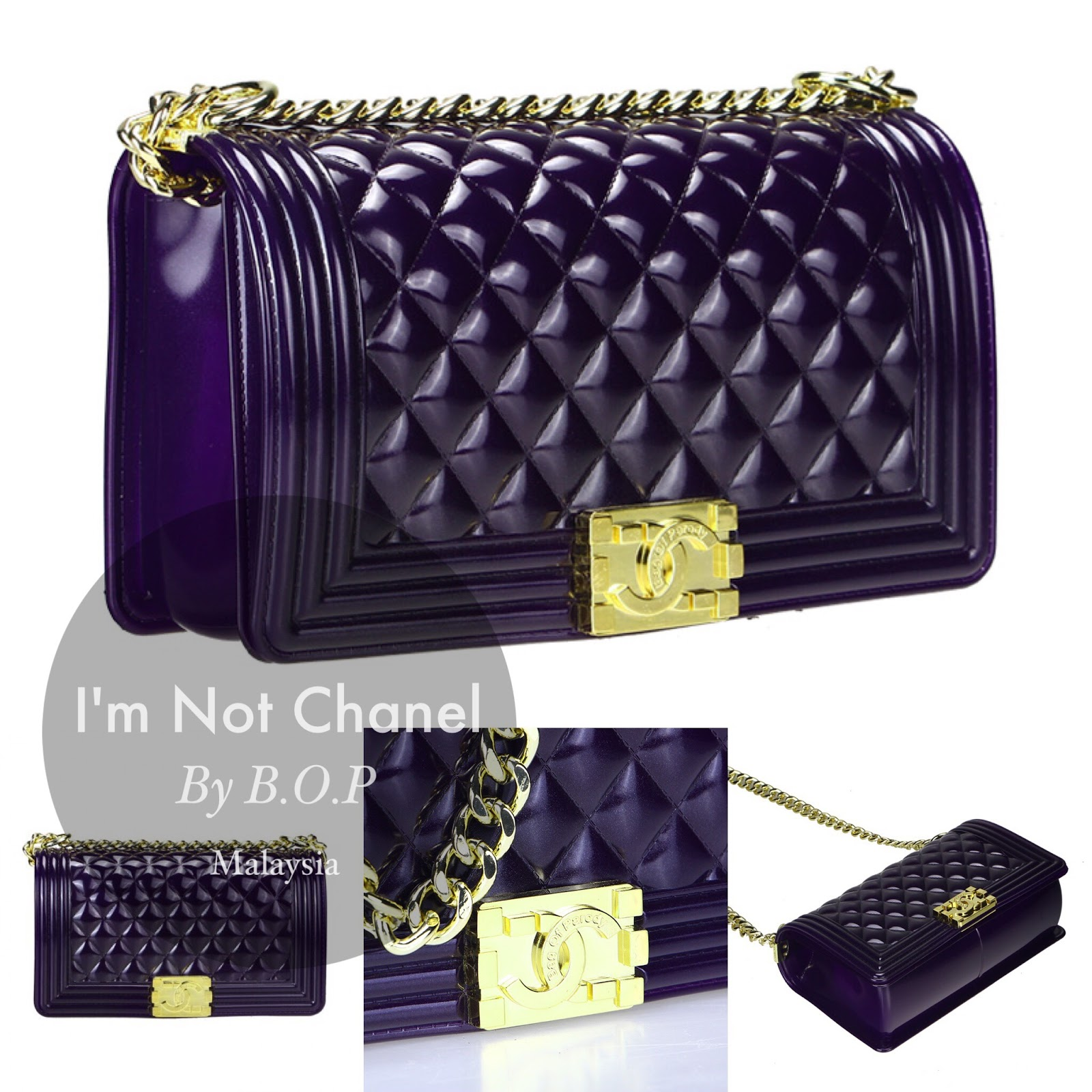 93f391471d30 I'm NOT CHANEL by Bag Of Parody