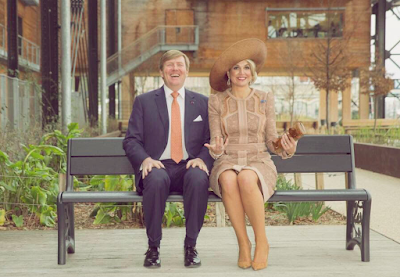 Halle Pajol, Paris, King Willem Alexander, Queen Maxima