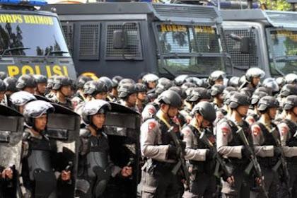 Ada Apa 200 Pasukan Brimob Polda Maluku akan Dikirim ke Jakarta?