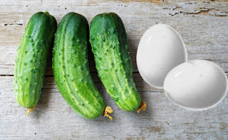Cucumber & Egg Mask for Sagging Breasts