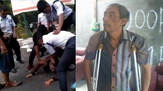Pengeroyokan Terduga Pencuri Helm di Kampus Unimed Tak Berperikemanusiaan