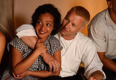 Ruth Negga and Joel Edgerton sit out most of the action in the true-to-life drama Loving (2016).