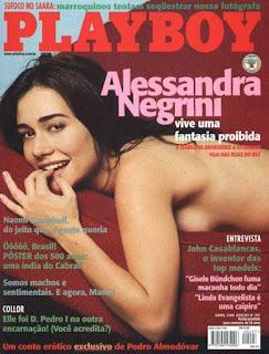 Baixar Revista PlayBoy: Alessandra Negrini - Maio 2000