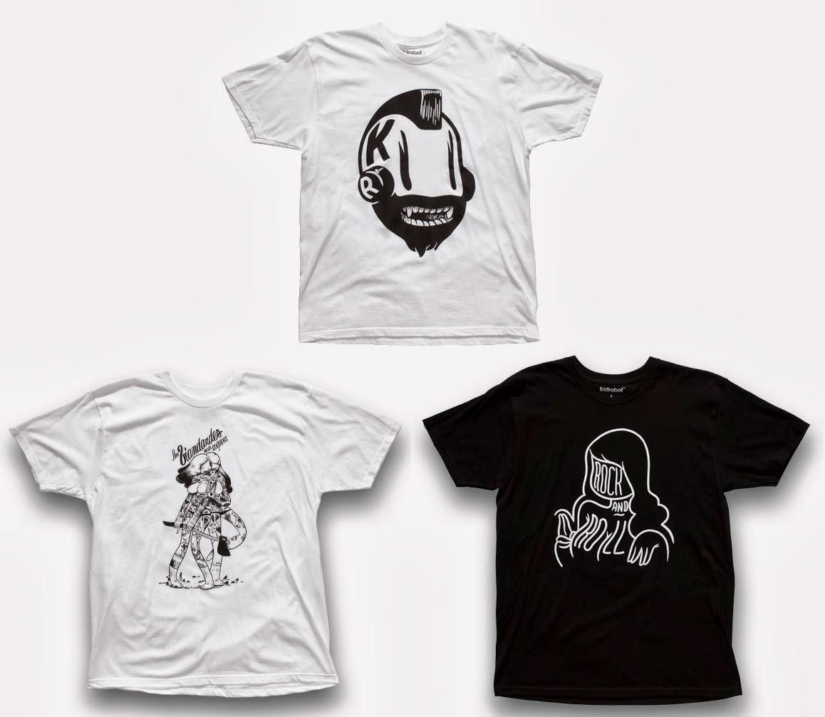 64097055393fdb The Blot Says...  McBess x Kidrobot T-Shirt Collection