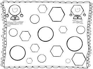 Mrs. McGinnis' Little Zizzers: Common Core Shape Unit