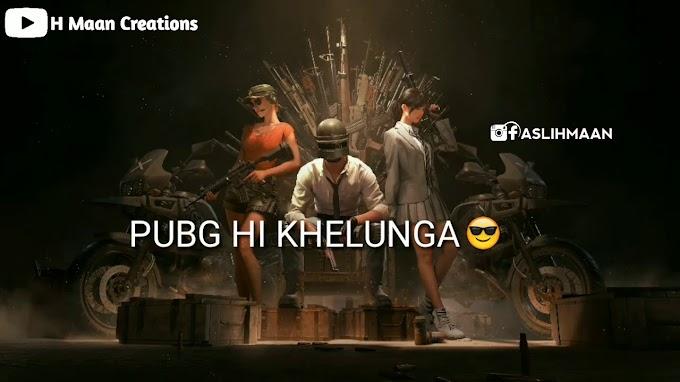 StatusMobi.com   Pubg Hi Khelunga   New Pubg Song   Pubg Status Video   Whatsapp status Video For Pubg Lovers