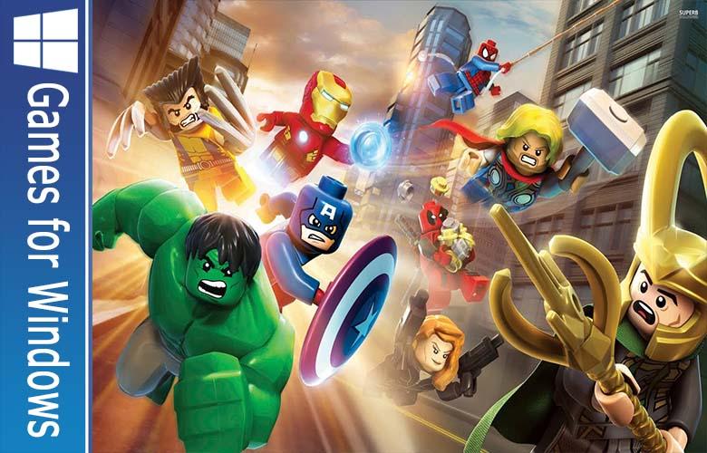 LEGO Marvel Super Heroes gamerzidn
