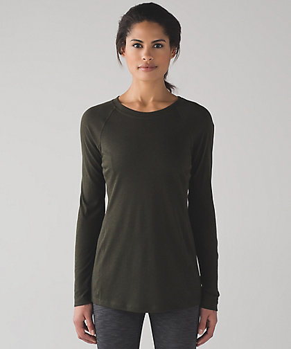 lululemon breathe-a-wool-tunic olive