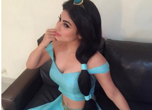 Naagin Actress Mouni Roy Turns Disney Princess
