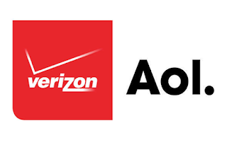 Verizon and Aol Logos