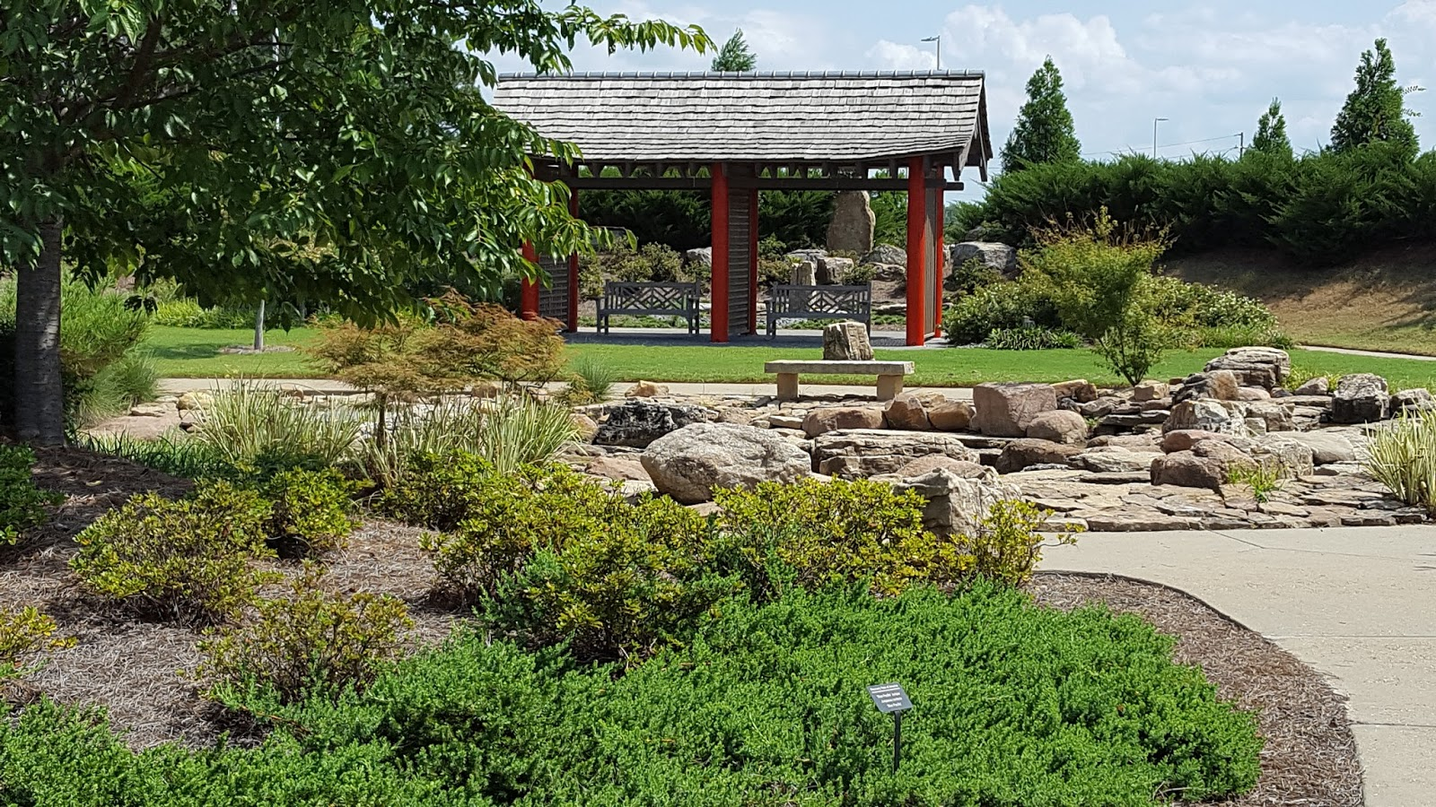 Delightful In Addition To This Asian Garden Area, The Discovery Park Also Has A  European Garden Area, Which Contains Many Of The Flowering Plants And Herbs  That Many ...