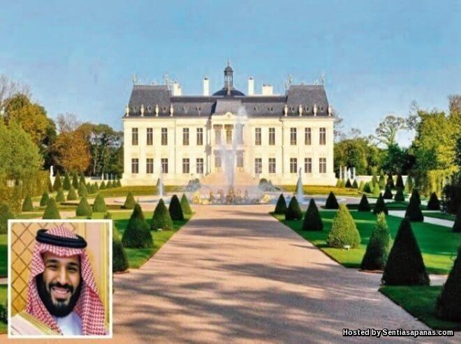 Chateau Louis XIV Istana Paling Mahal Di Dunia Milik Putera Mahkota Arab Saudi