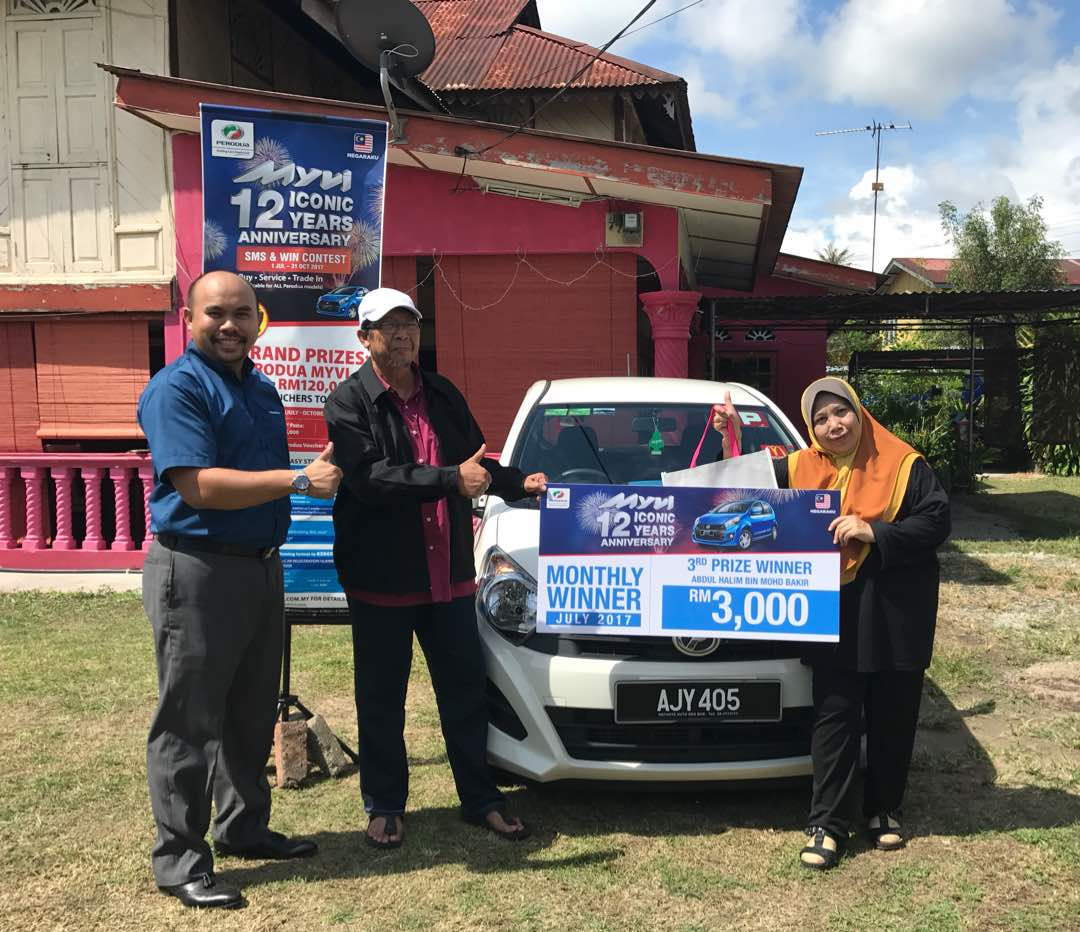 Motoring-Malaysia: Happenings: First Six Winners of the Myvi 12