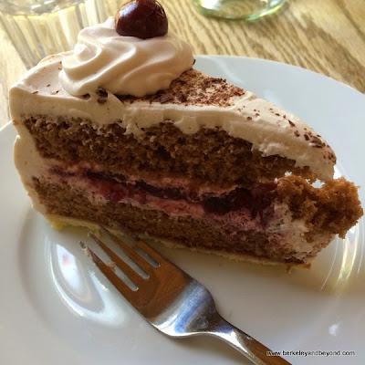 Black Forest cake at Gaumenkitzel in Berkeley, California