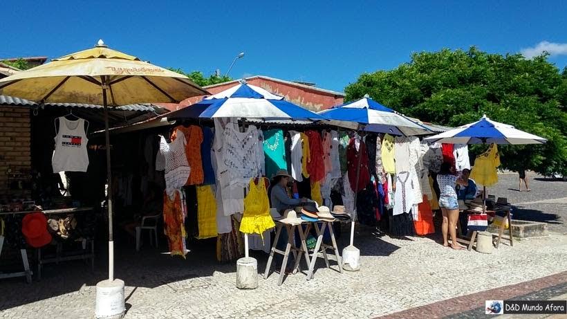 Feira de artesanato de Morro Branco e Praia das Fontes - Tour 3 Praias