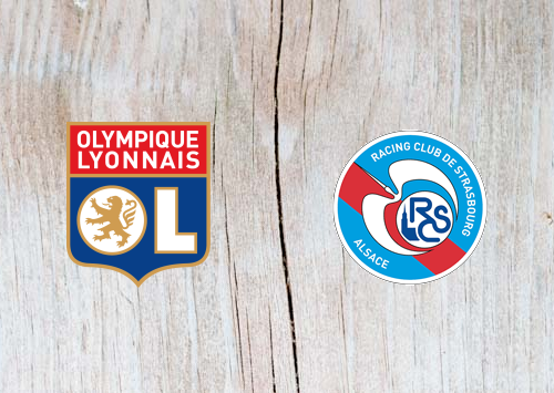 Lyon vs Strasbourg -  Highlights 8 January 2019