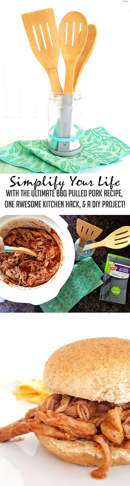 Make your life easier with these kitchen hacks! Whip together a delicious yet simple dinner, clean up the kitchen in seconds, and create a more adorable space all in a few hours time!