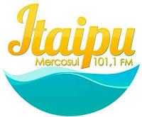 Rádio Itaipu Mercosul FM de Foz do Iguaçu PR ao vivo