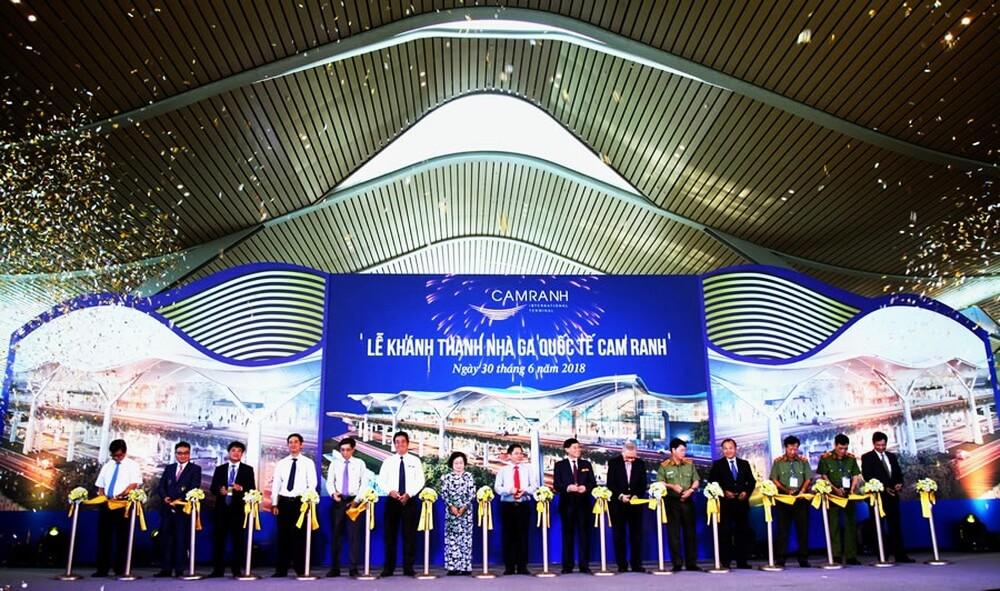 Trực tiếp lễ khánh thành nhà ga Quốc tế T2 Cam Ranh - Nha Trang