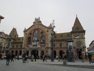 Exterior Mercado Central Budapest