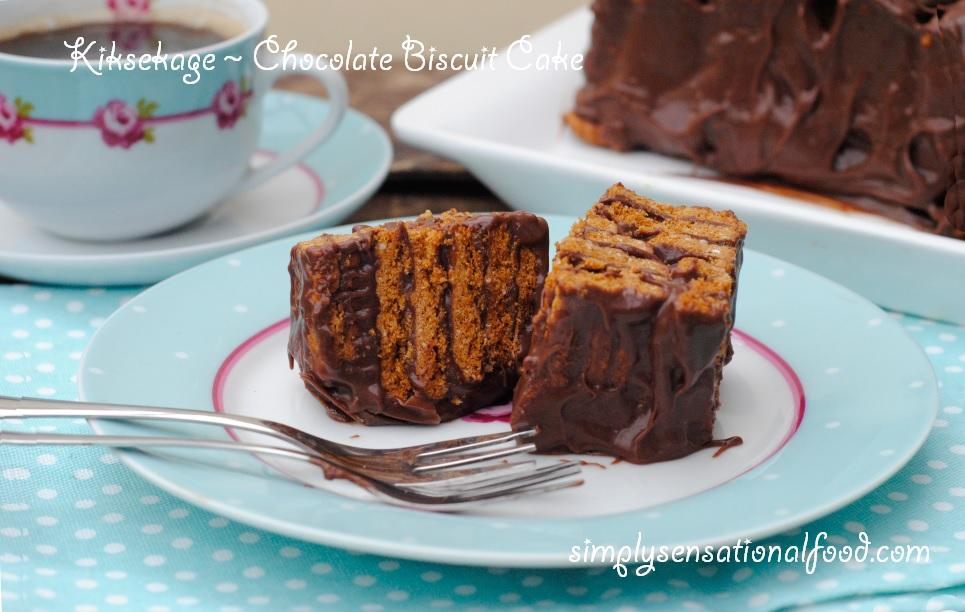 Biscuit Tin Cake