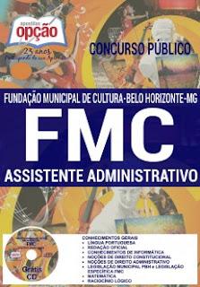 Apostila FMC BH 2016/2017 Assistente Administrativo