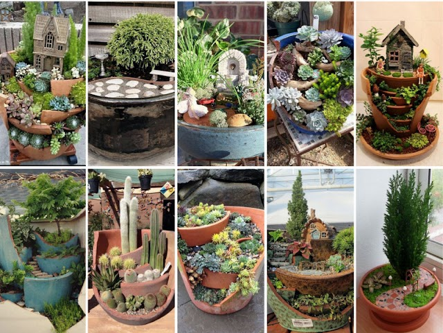 50+ Κήποι Μινιατούρες