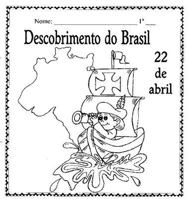 Historia Descobrimento Do Brasil Atividades E Desenhos Para