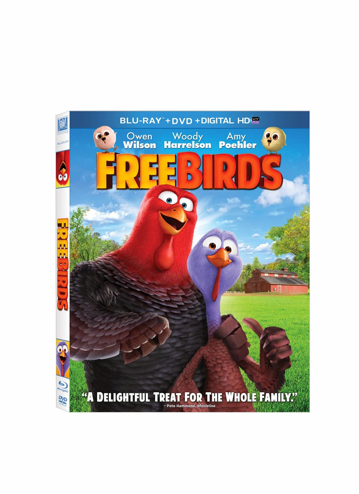 Free Birds Blu-Ray Combo Pack Giveaway