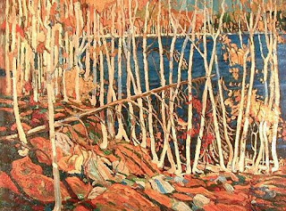 Tom Thomson painting - In the Northland