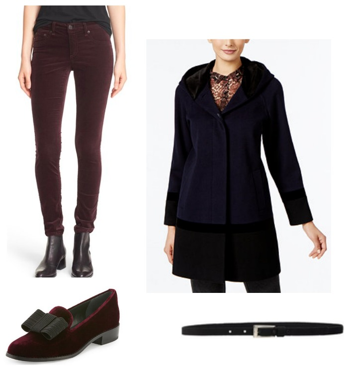 work wear velvet fashion trend