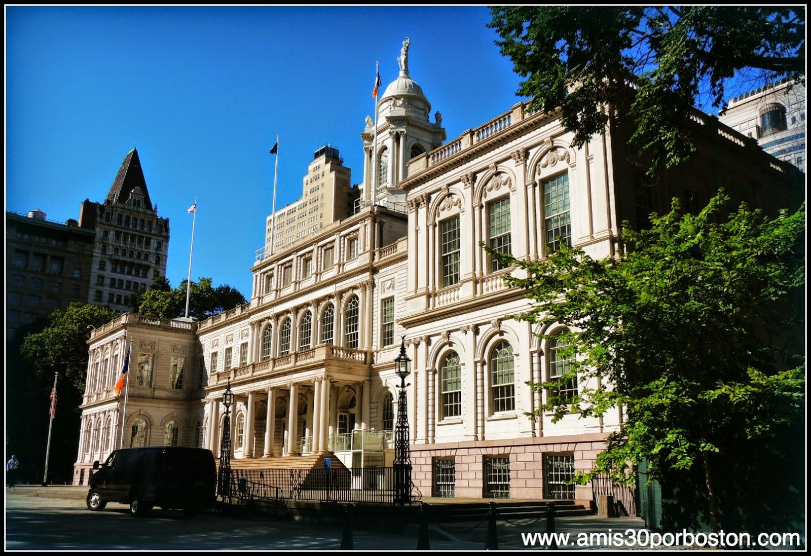 Segunda Visita a Nueva York: Ayuntamiento