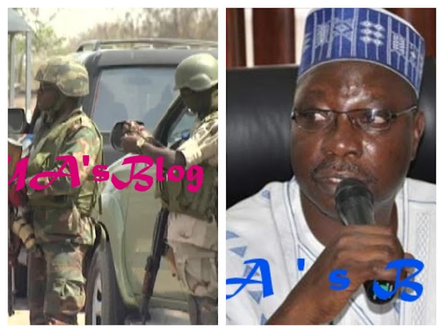 Soldiers rescue Gombe senator from angry constituents