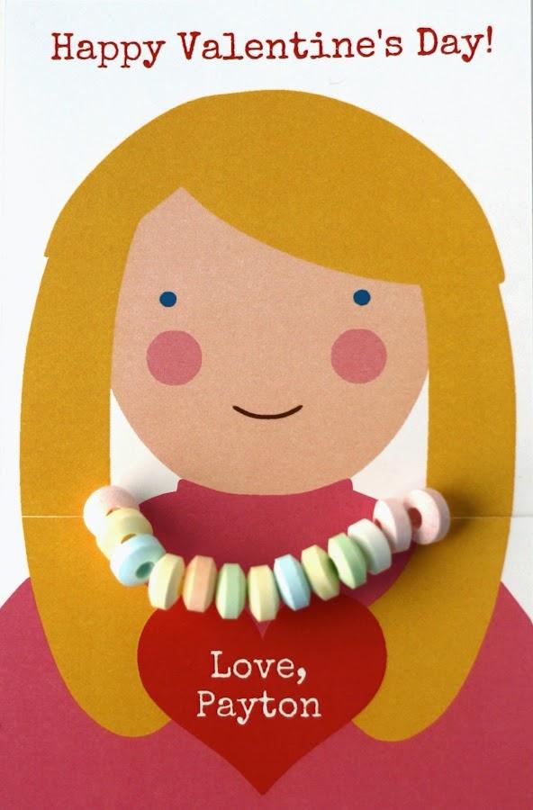 candy bracelet valentine