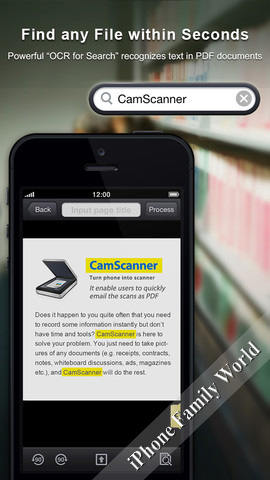 CamScanner Plus 2 0 0 0 (v2 0 0 0) IPA App for iOS 6, iPad