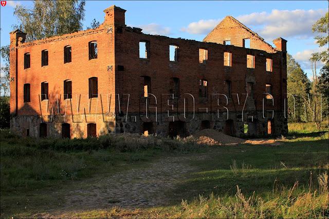 Водяная мельница в Новополье