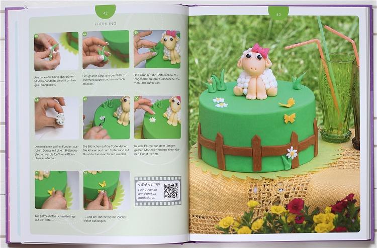 Buchvorstellung/Rezension Crazy Cake Design von Stefanie Noé  2