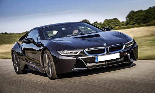BMW i8 Hybrid Sports Car May Go All Electric