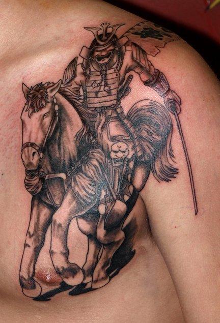 tattoo designs: Designs Aztec Warrior Tattoo